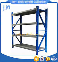 Steel light/ heavy shelves -