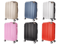 Fashion chargeable luggage trolley case -