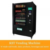 Cold Food & Beverages soda and candy Vending Machine -