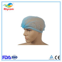 Disposable non-woven mob cap, disposable nurse cap-RK1002 -
