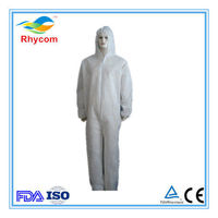 Disposable non-woven protective clothing/ coverall with different color  -