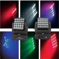 25X10W RGBW haz de matriz de control de píxeles in1 LED moviendo la cabeza luz VS2510 -