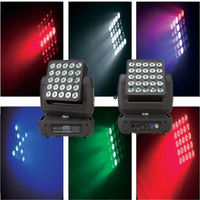 25X10W RGBW in1 pixel control LED matrix beam moving head light VS2510 -