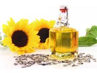 100% pure crude sunflower oil -