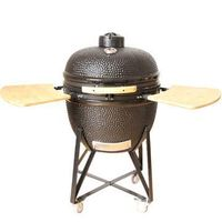 Charcoal BBQ Grill Clay Egg Shell -