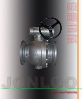 Cast Steel Trunnion Mounted Ball Valve -