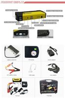 16800mah 12v portable car starter multifunction power bank -