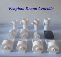 Ceramic Dental Lab Crucibles Series ( Vertical ,Horizontal ) For Casting Machine. -