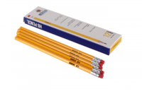 Yellow Rubber tip pencils  -