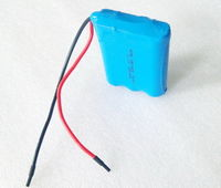 3C digital 18650 11.1V2200mAh lithium-ion battery pack -