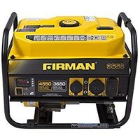 Firman P03603 - Performance Series 3650 Watt Electric Start Portable Generator w/ RV Plug & Wireless Remote -