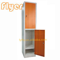 Two tiers lockers -
