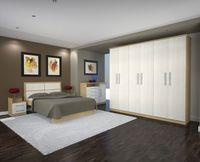 Wood Furniture Doors Open - Wardrobe  -
