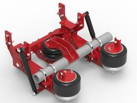 Third axle with air suspension -