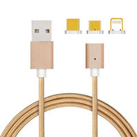 Magnetic data cable, data cable -