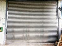 Garaje puerta de balanceo - acero inoxidable -