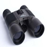 16X40mm de Alta Potência DCF Metal Longa Distância de Viagem/Esporte Folding Binóculos Telescópio Compacto -
