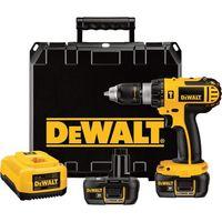 Kit de taladro de martillo inalámbrico DEWALT Compact: 18 voltios, 1/2 pulg., modelo # DCD775KL -