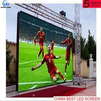 impermeável ao ar livre da cor cheia P4 HD vídeo display de led -