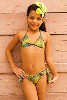 Girls Stamped Bikini  -