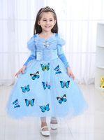 万圣节茉莉公主裙儿童Elsa礼服连衣裙女童裙子 -
