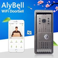 AlyBell Motion Detection Wireless IR Night Vision Video Smart WiFi Doorbell -