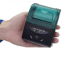 Comida de 2 polegadas portátil Bluetooth impressora térmica 58mm impressora impressora sem fio móvel -