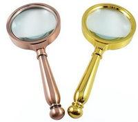 DR029 Zinc Alloy Detachable Handle Metal Magnifying Glasses -