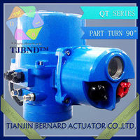 4-20ma angle Stroke Electric actuator for QT3 power plant -