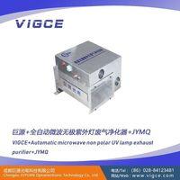 Equipos de tratamiento de gas Infinity UV escape de microondas -