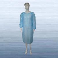 Nonwoven isolation gown -