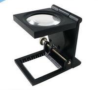 Th9005a liga de zinco Metal Folding iluminado lupa com ponteiro de impressora -