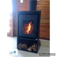 Firewood Heater Dual combustion New -