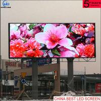 Impermeável ao ar livre da cor cheia fixo leitor de tela de vídeo instalação P8 LED -