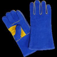Welding Gloves, Made of Split Leather, Inside Lining, Welted -