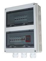 Caja de combinador de matriz DC PV Solar cadena cajas 2, 4, 5, 6 cuerdas -