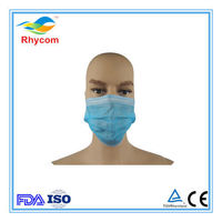 Non-woven ear loop face mask -