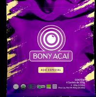 Especial Acai Acai, orgánico, organic Acai medio Popular orgánica (4 x 100 g o 1, 02kg). -
