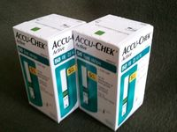 Glicose Accu Chek Active tiras de teste 50ct, ct 100ct -