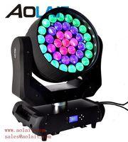 37X15W Led de movimiento cabeza rayo lavado zoom teatro iluminación dj -