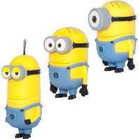 Minions style USB flash drives, capacity 128MB to 128GB with high quality and factory price -