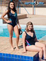 Swimming And Water Aerobics Plus Size And Basic Line -