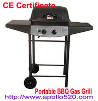 2 Burner Portable BBQ Gas Grill -