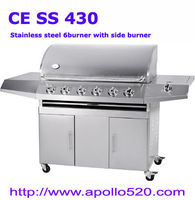 6-burner SS BBQ Barbacoa de Gas -