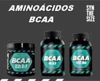 BCAA - AMINO ACIDS (12: 1: 1 DRINK / 4: 1: 1 TABLETS / 600 + VIT B6 CAPS) -