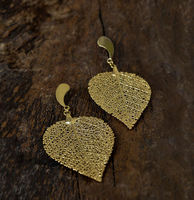 Cerrado Leaf Earring - Drop shaped - M -