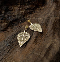 Cerrado Leaf Earring - Drop shaped - S -