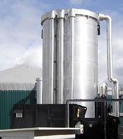 Esfregador de biogás -