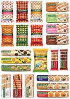 Galletas, biscuits cookies -