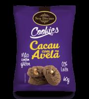 Cookies Cacau Com Avelã 60g -